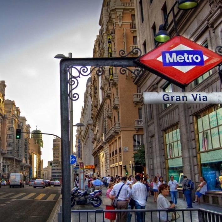 Gran Via Metro Madrid
